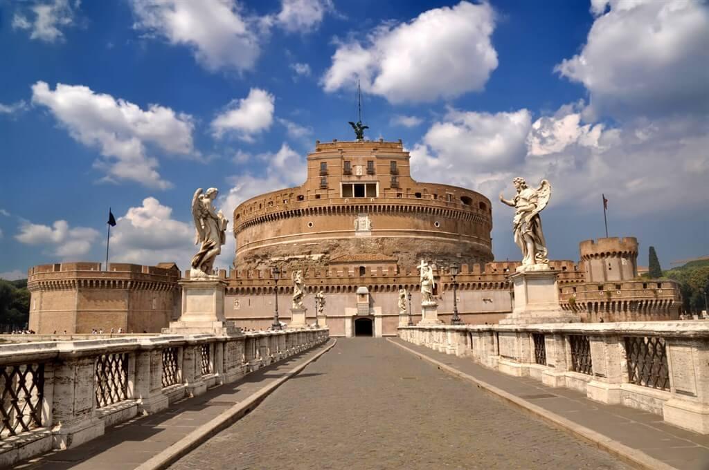 Rím - Anjelský hrad