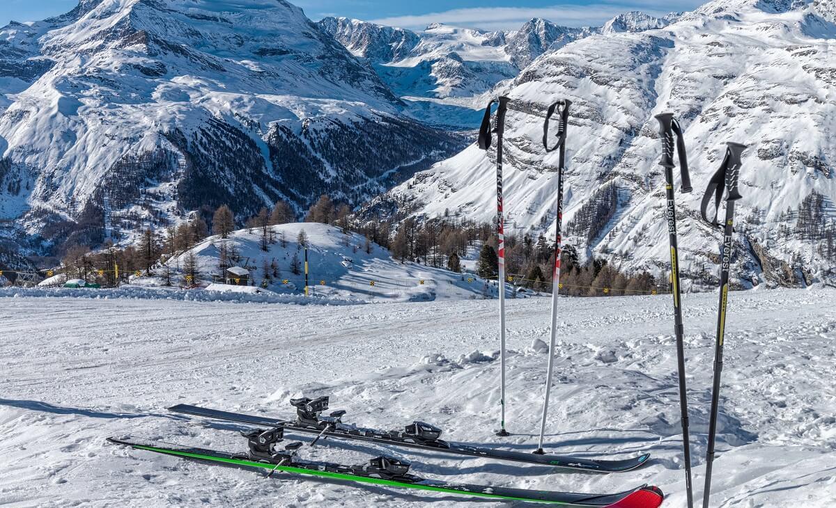 Výber lyžiarskych palíc