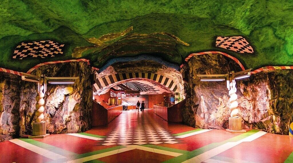 Metro v Štokholme