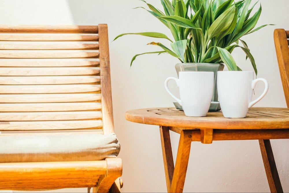 Výber nábytku na terasu