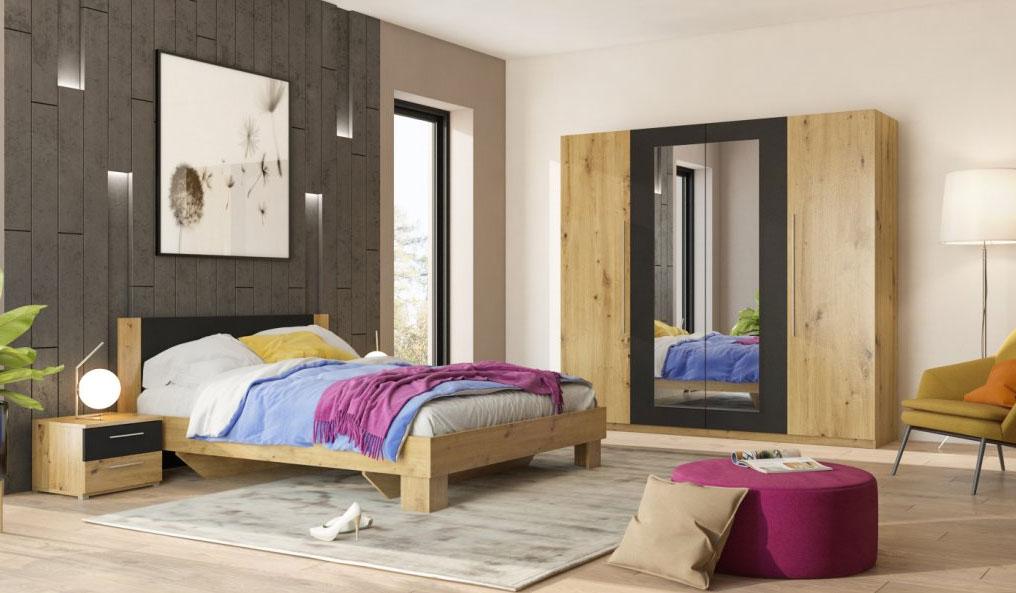 Spálňové komplety - moderné zariadenie spálne