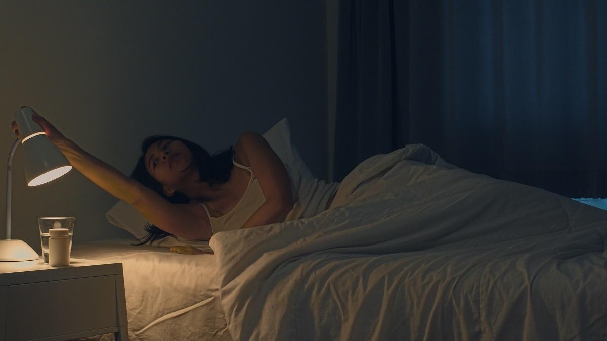 Eliminácia svetla v spálni